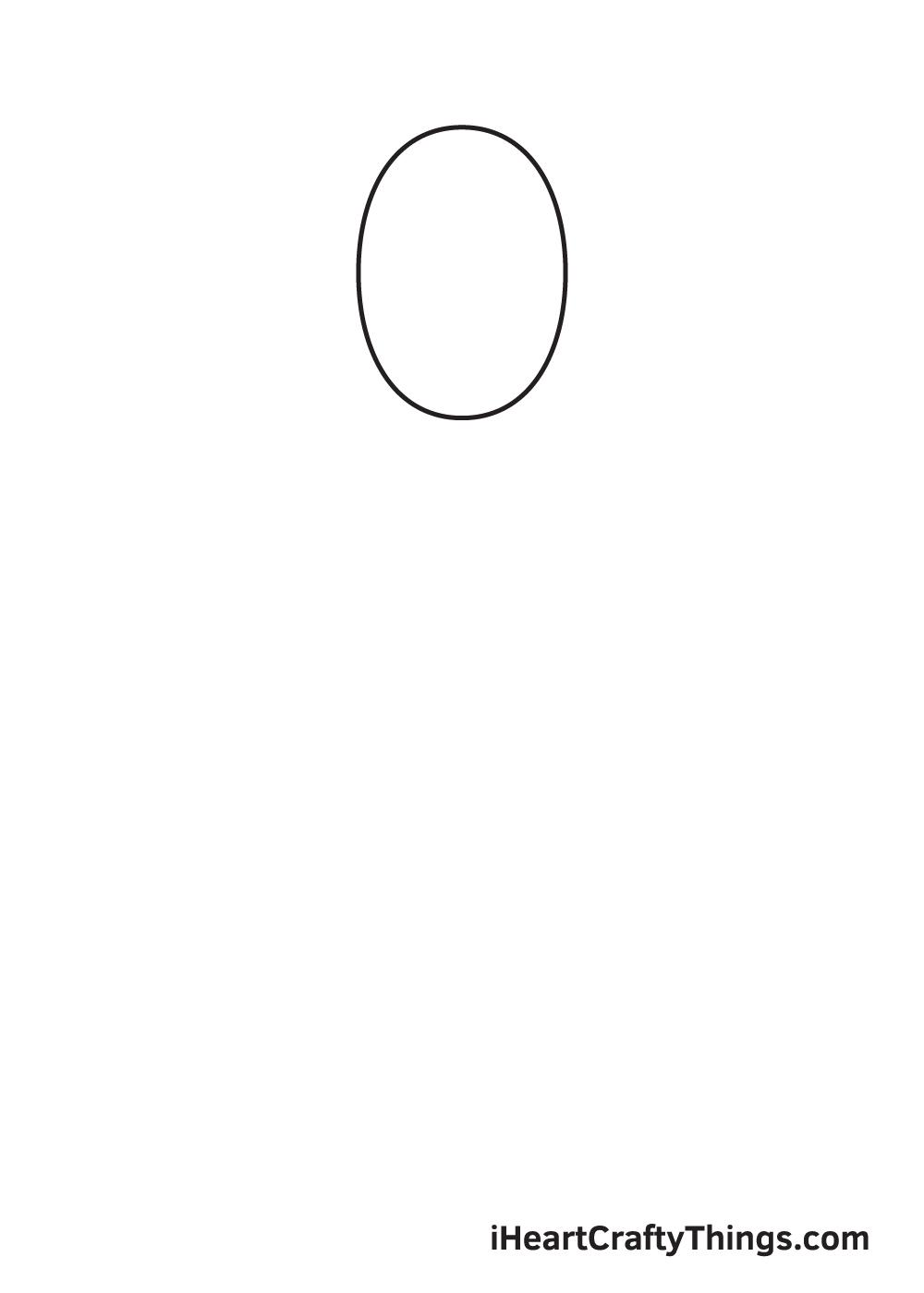 cartoon people drawing step 1
