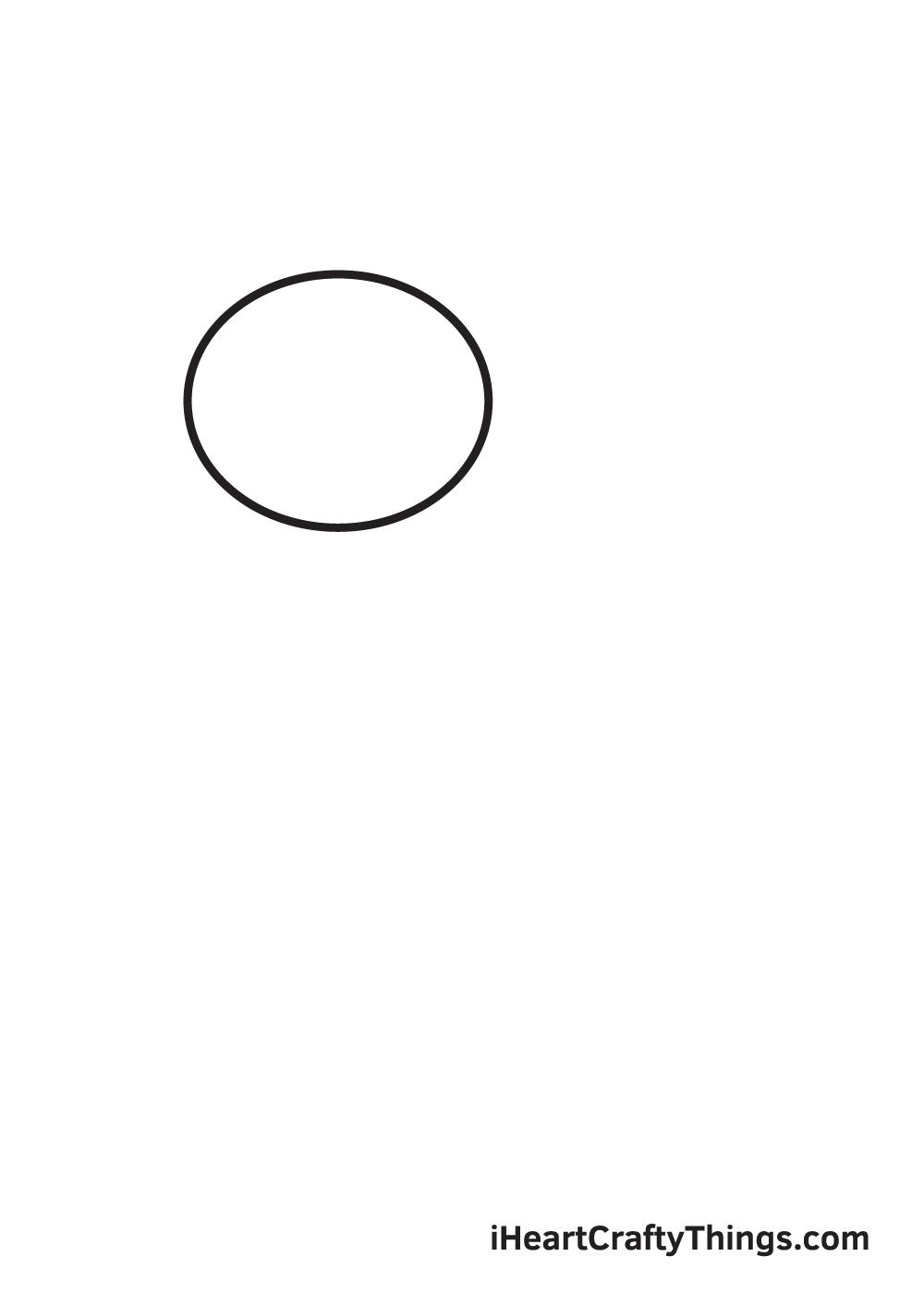 charizard drawing step 1