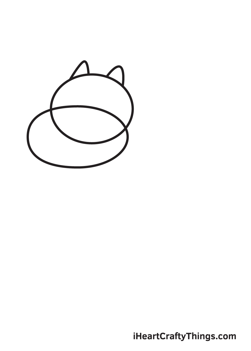 charizard drawing step 2