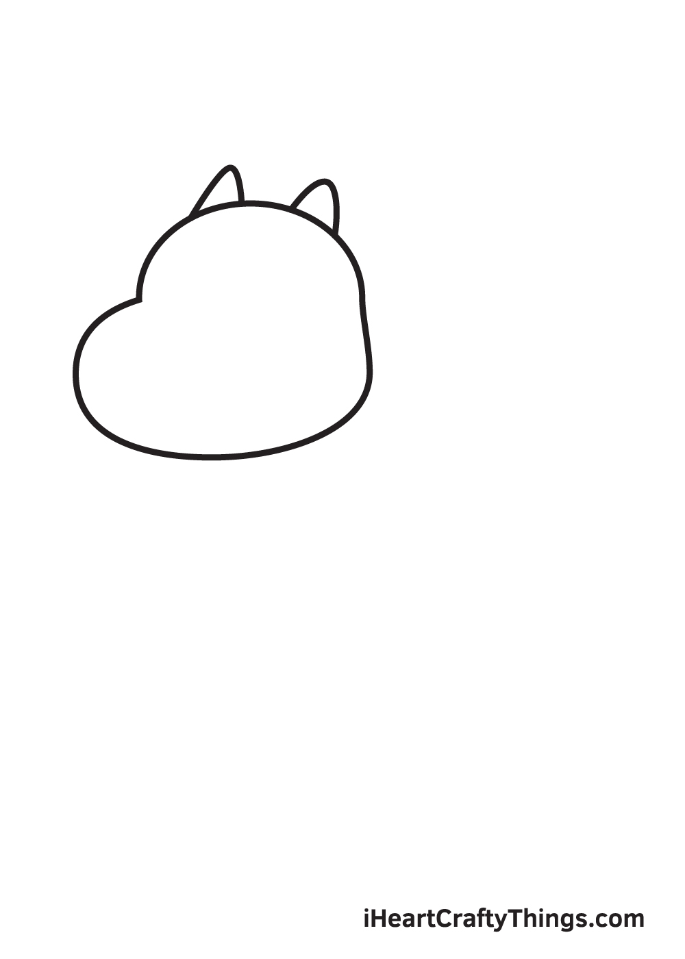 charizard drawing step 3