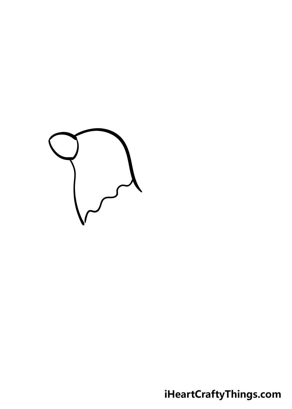 drawing chicken step 2