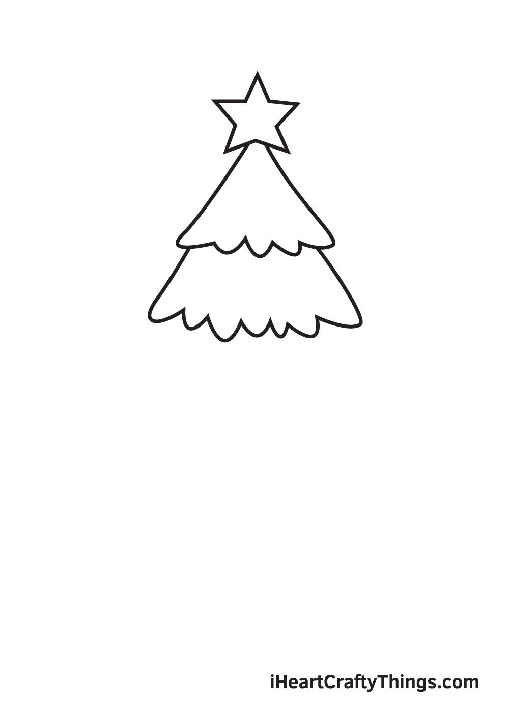 christmas stuff drawing step 3