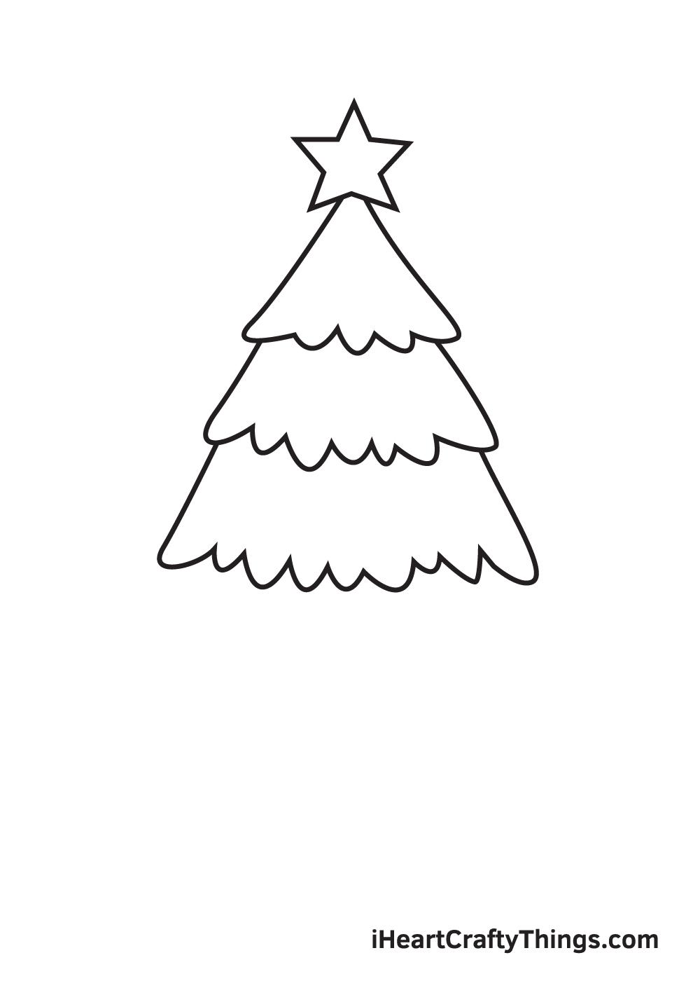 christmas stuff drawing step 4