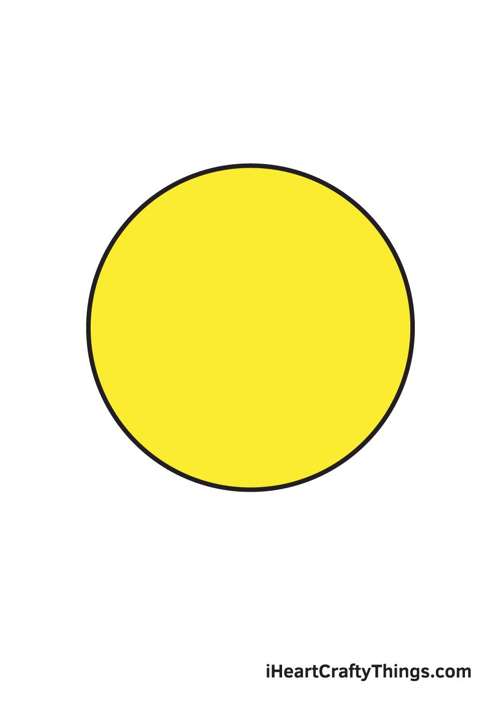 circle drawing 9 steps