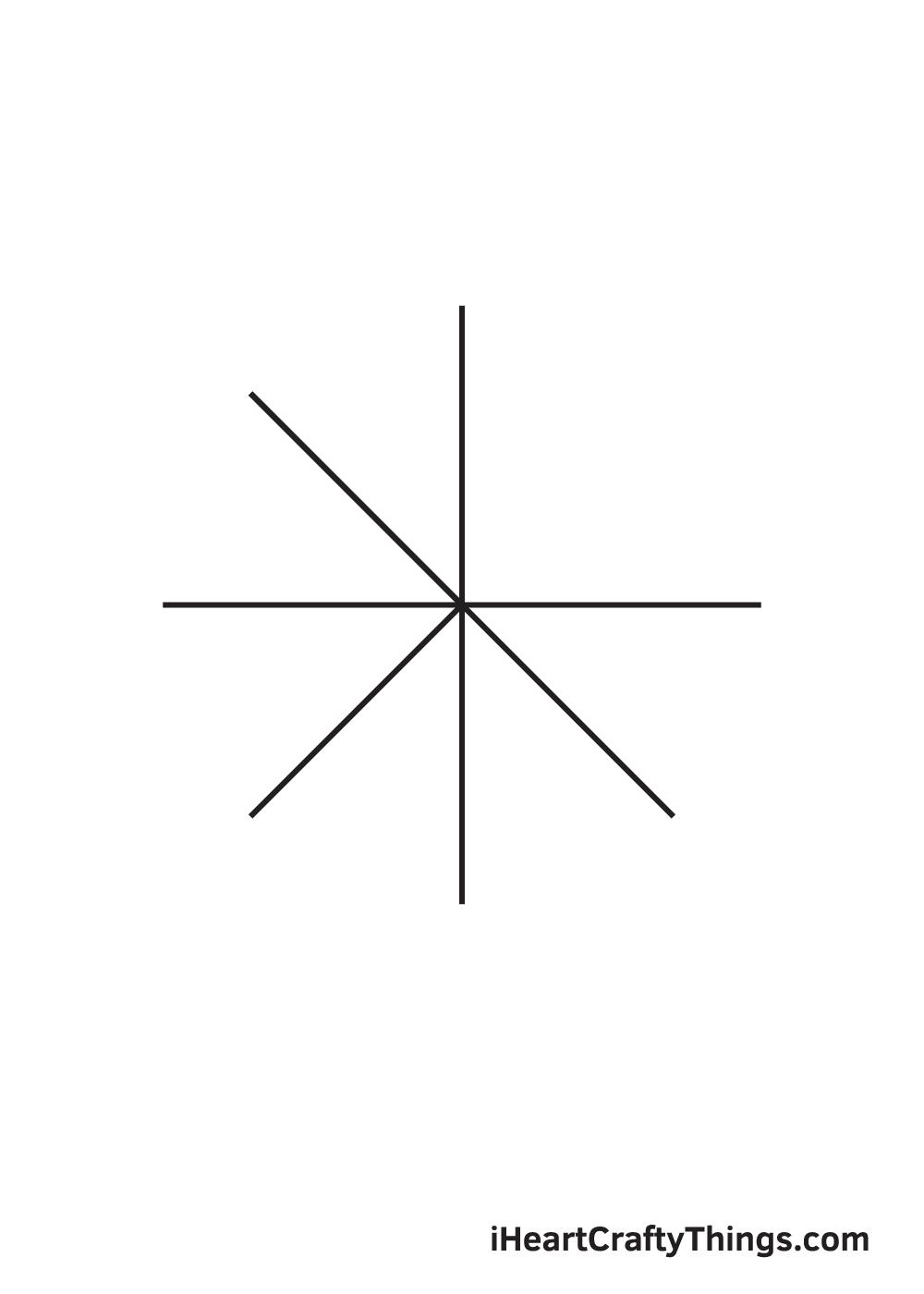 circle drawing step 5