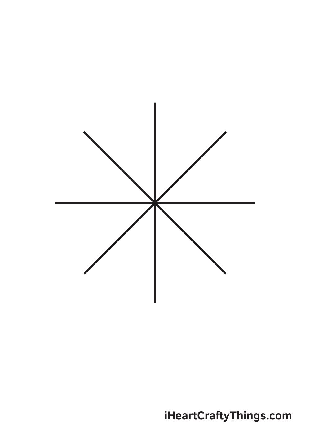 circle drawing step 6