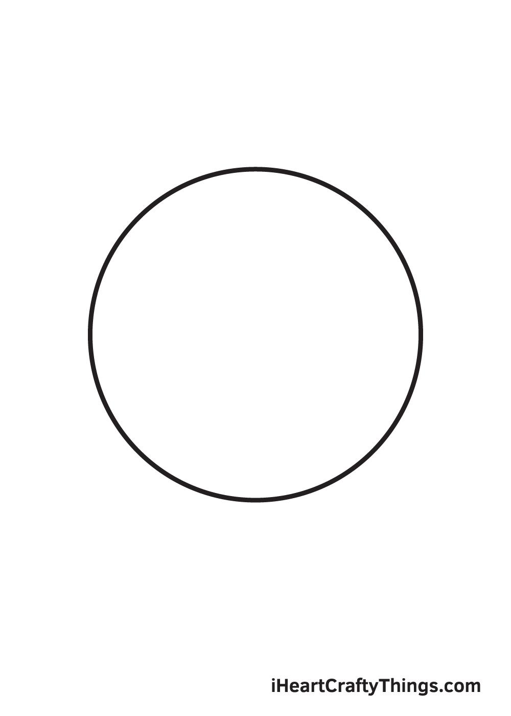 circle drawing step 9