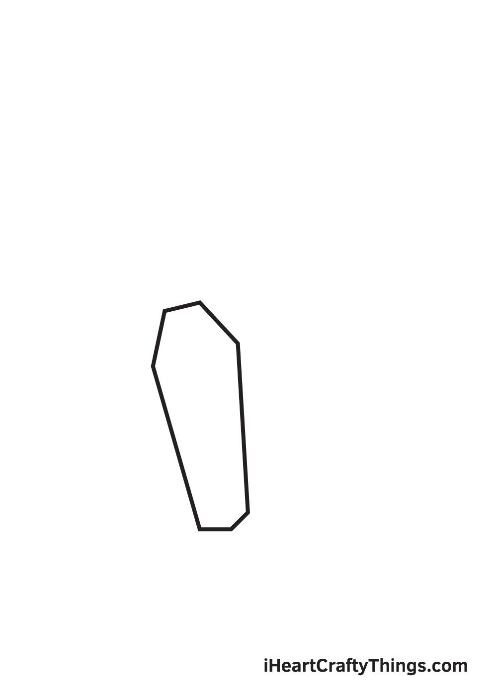 crystals drawing step 1