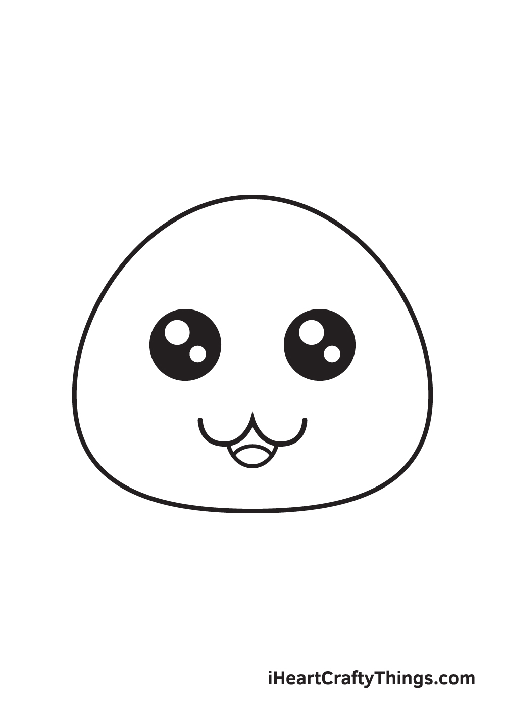 cute drawing step 5