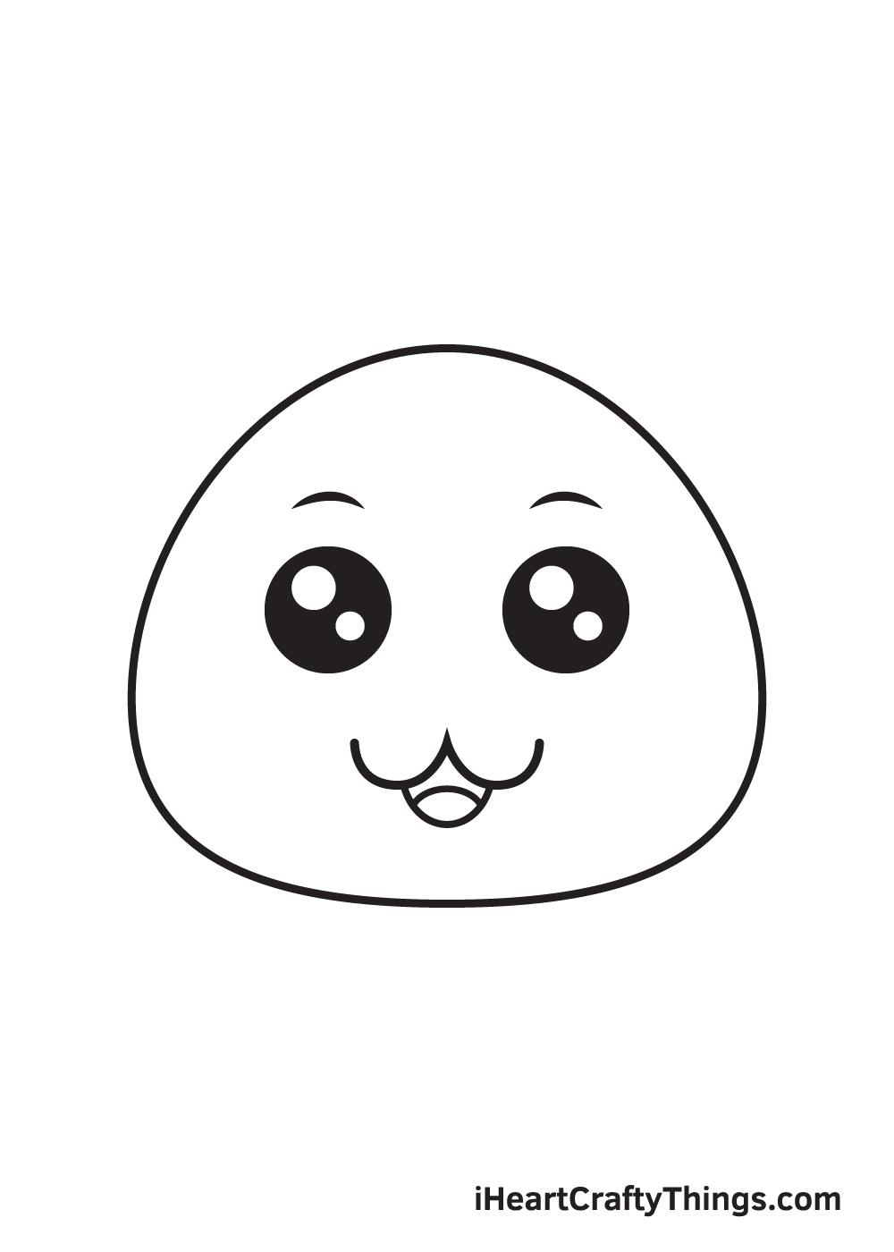 cute drawing step 6