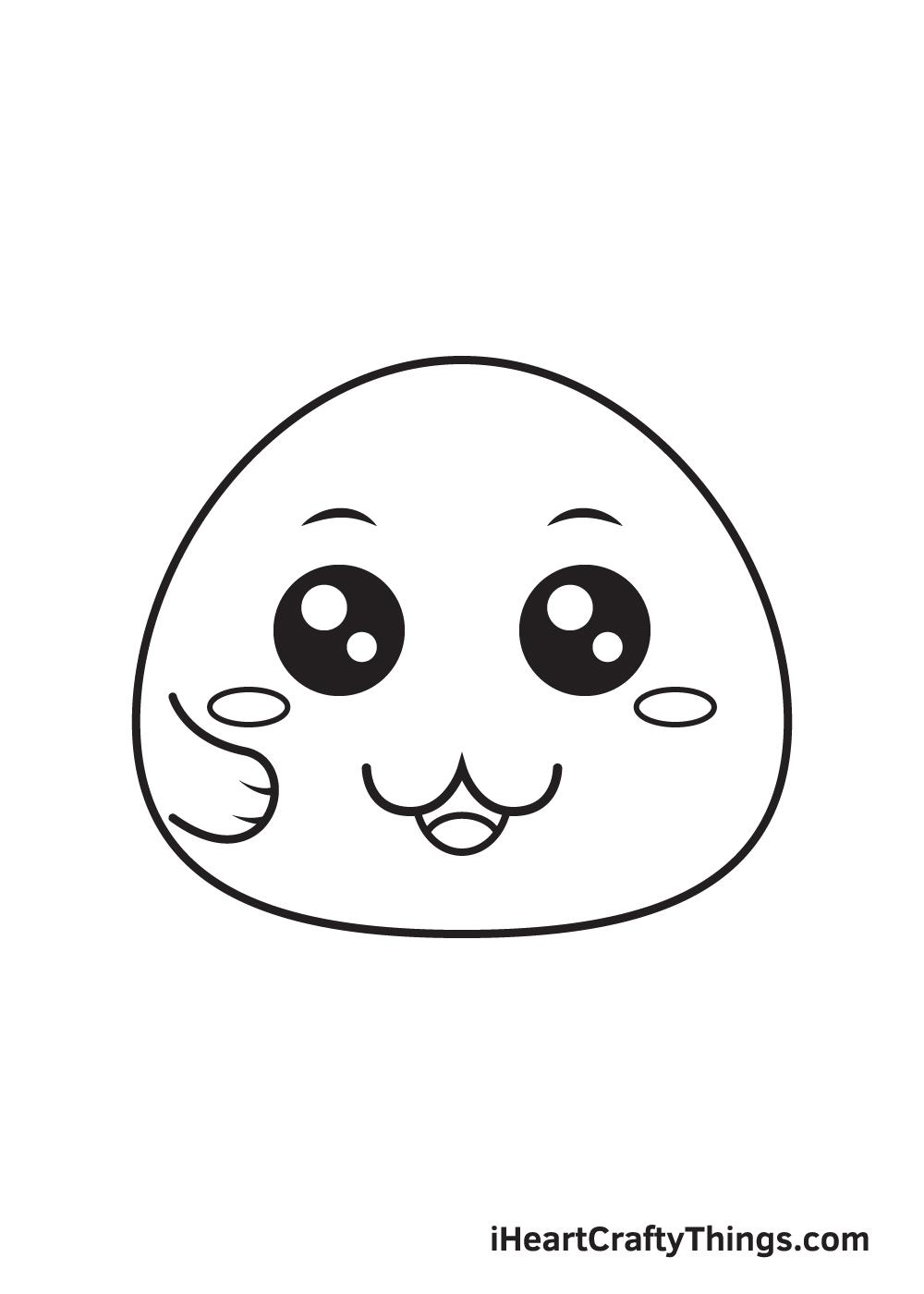 cute drawing step 8