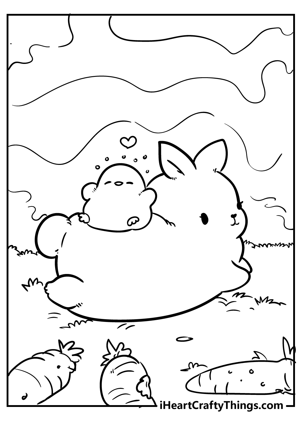 cute animals coloring pages for kids free pdf download
