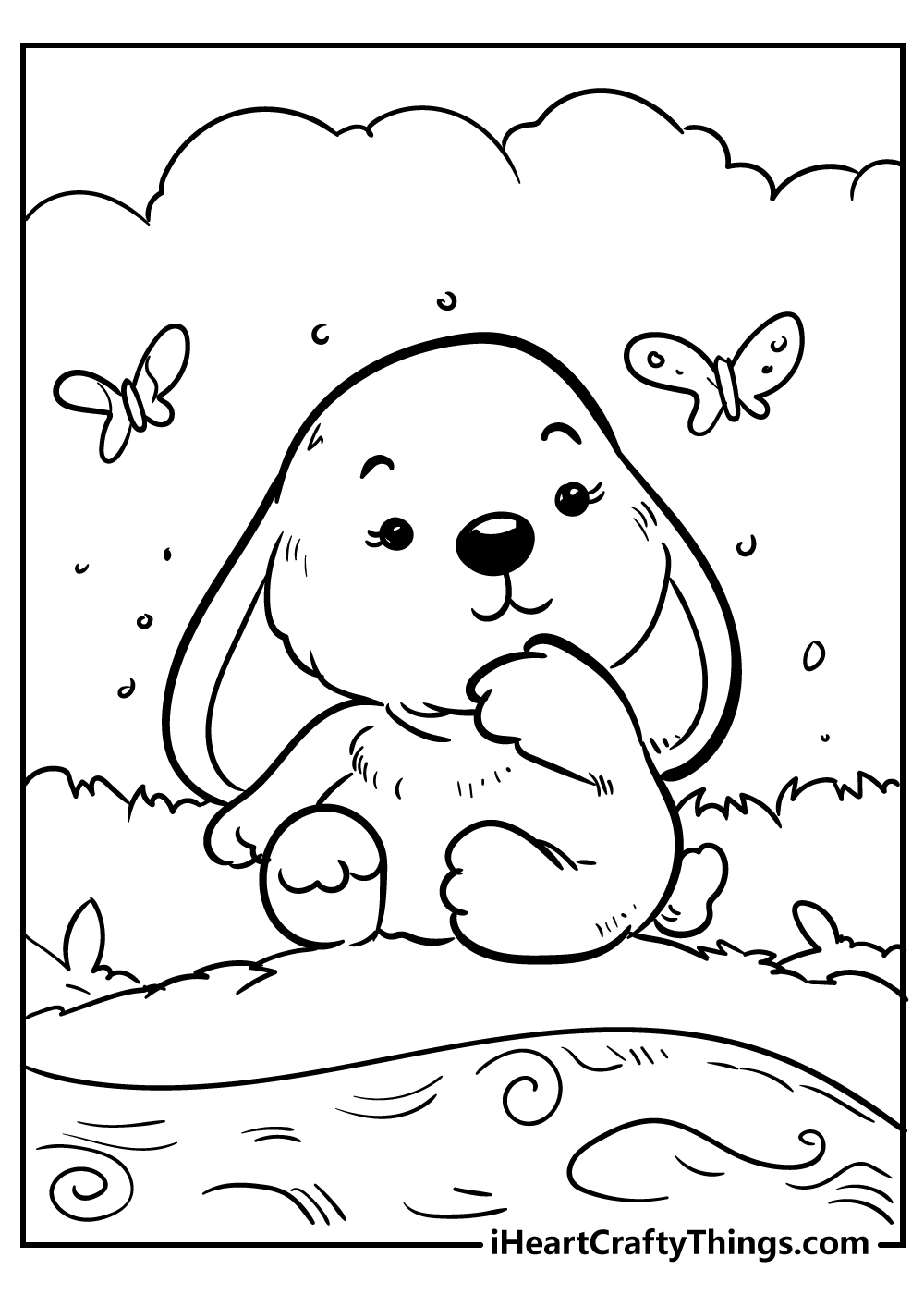 cute little animals coloring pages free printable