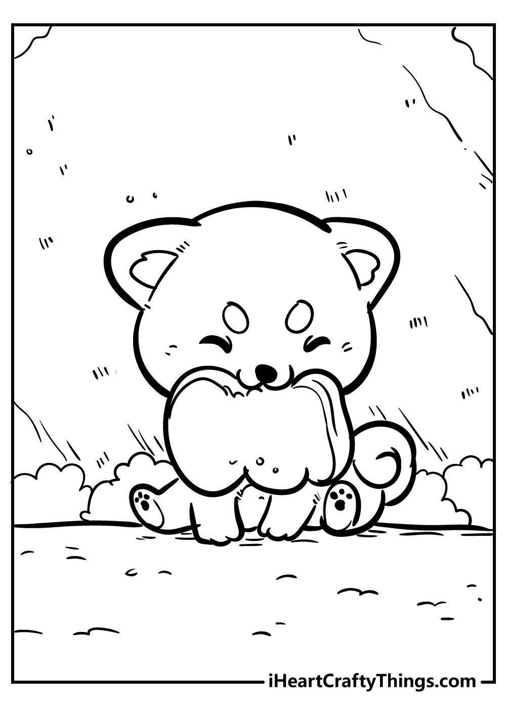 cute little animals coloring sheets free download