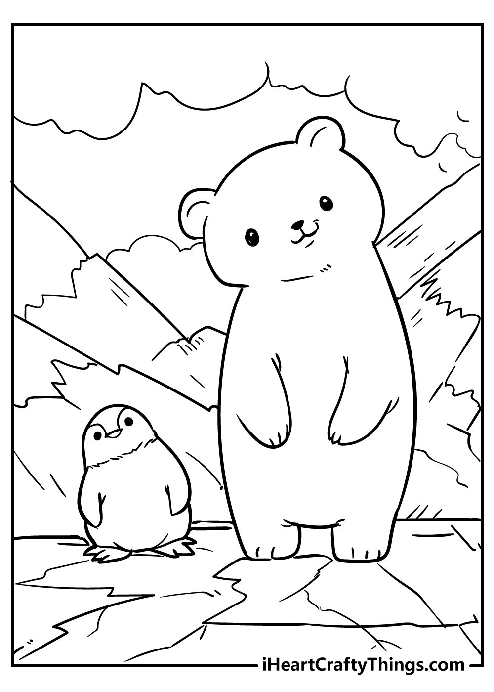 cute little animals coloring pages for adults free printable