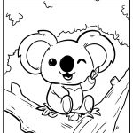 cute animals coloring images free download