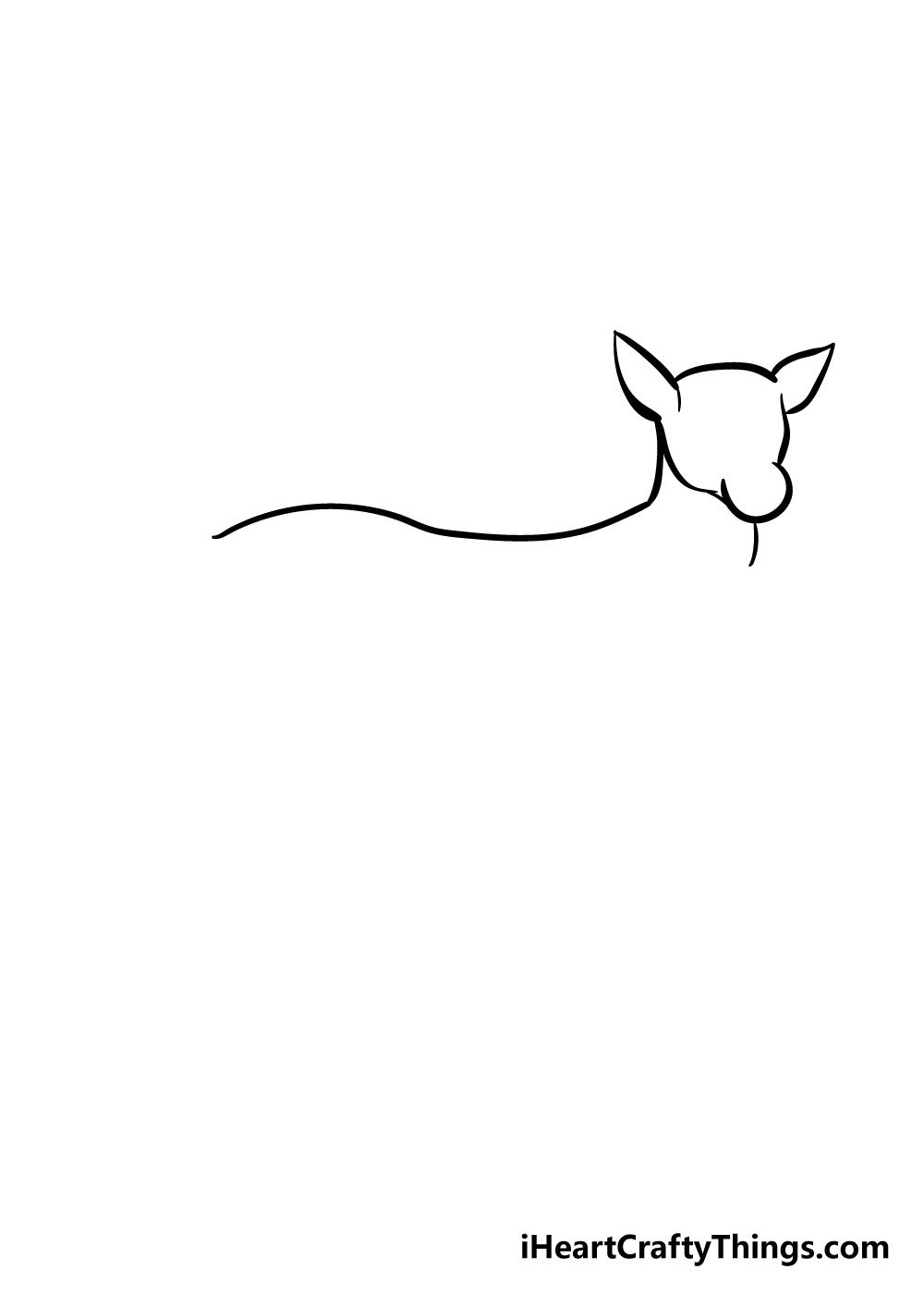drawing deer step 3