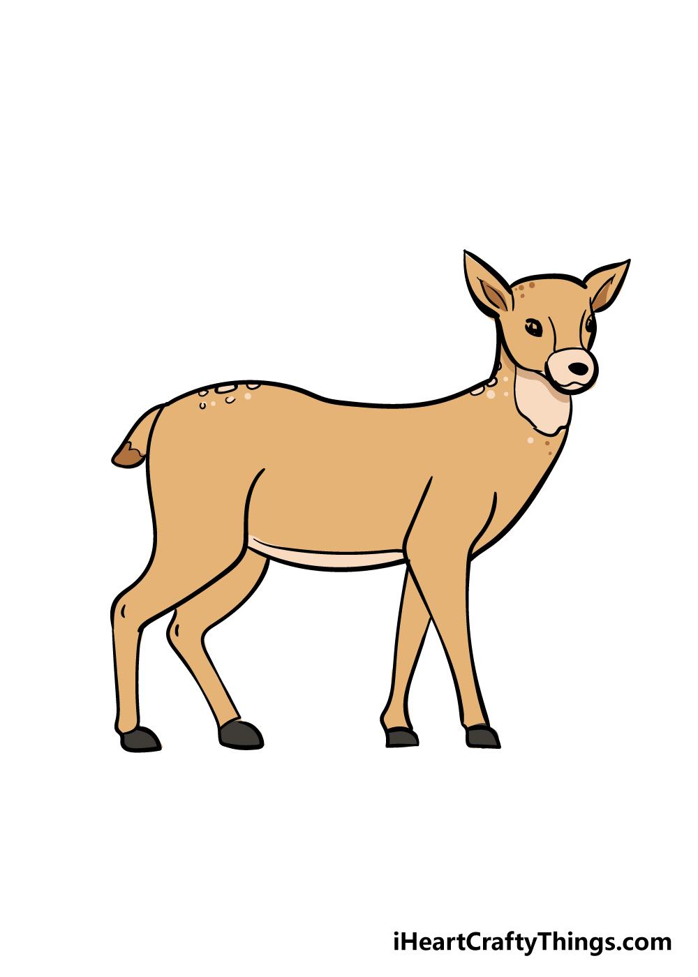 drawing deer step 8