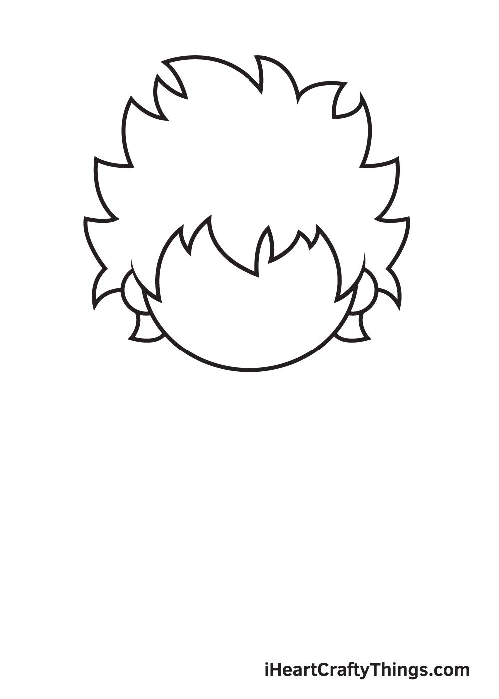 deku drawing step 3