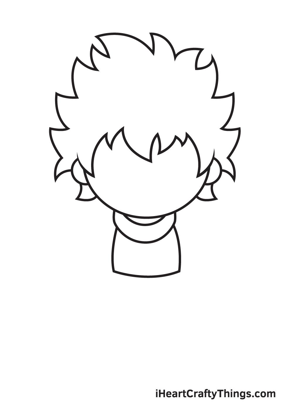 deku drawing step 4