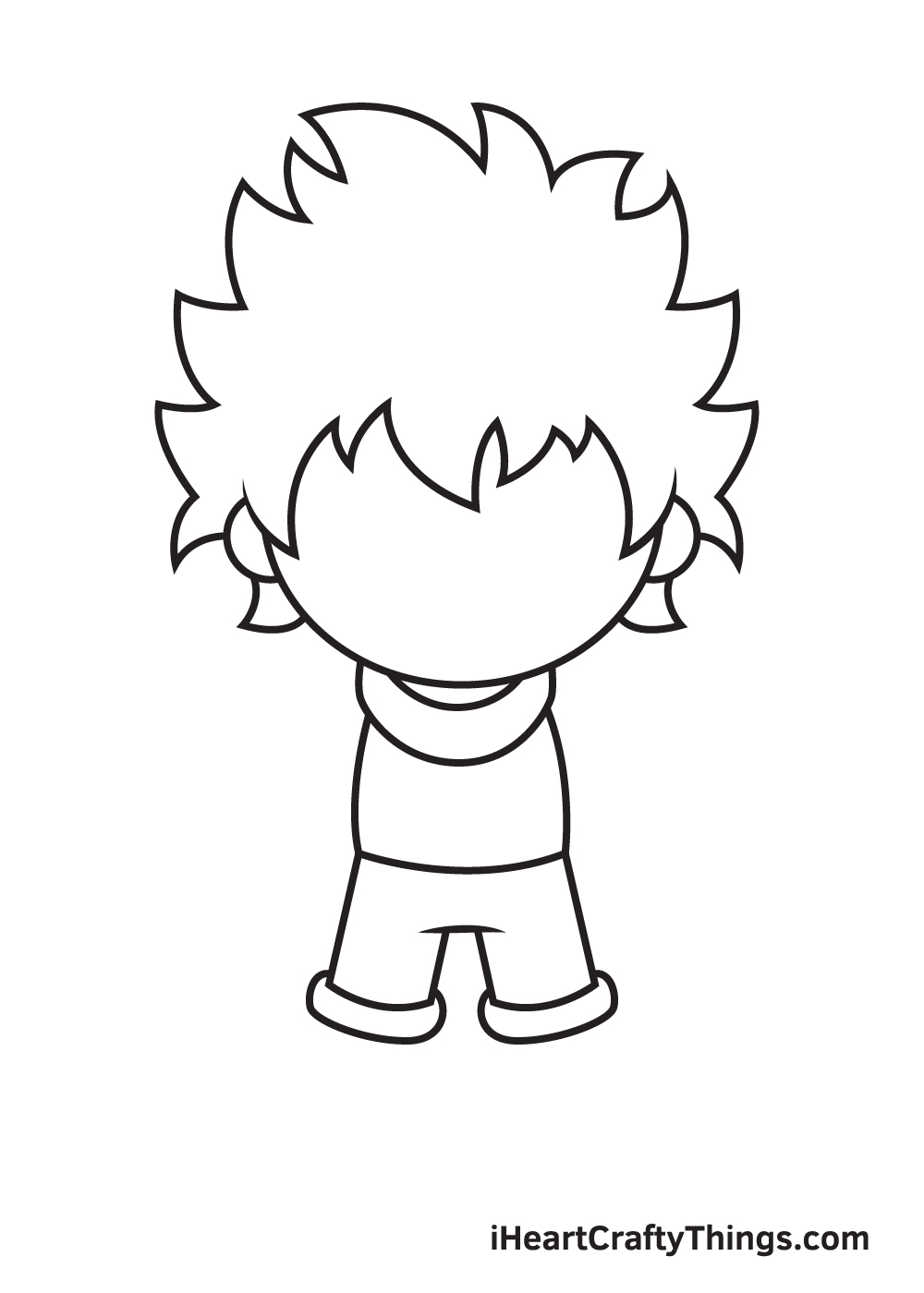 deku drawing step 5