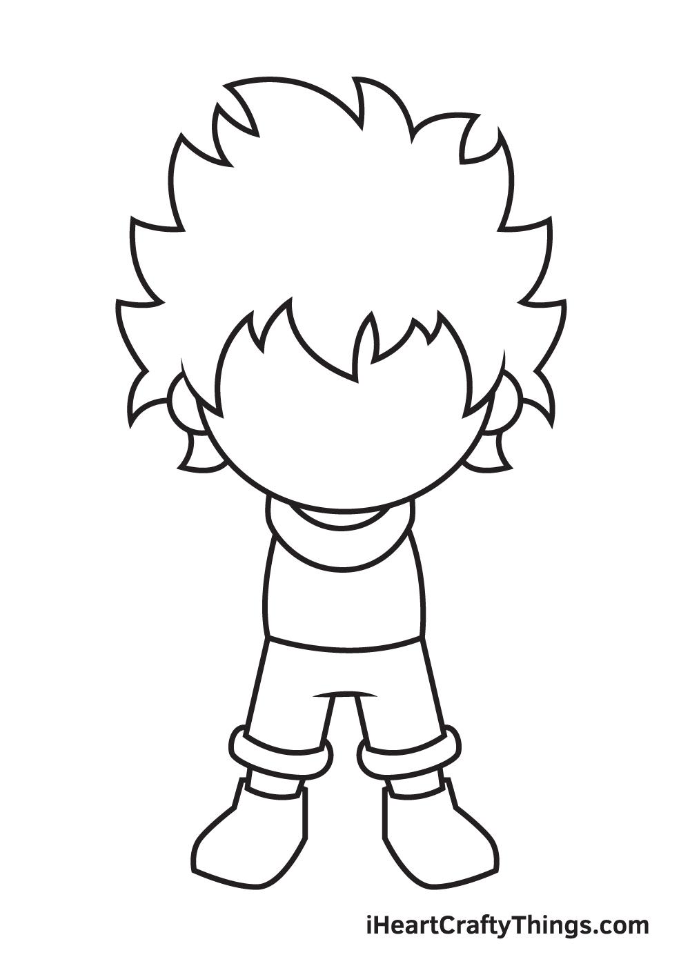 deku drawing step 6