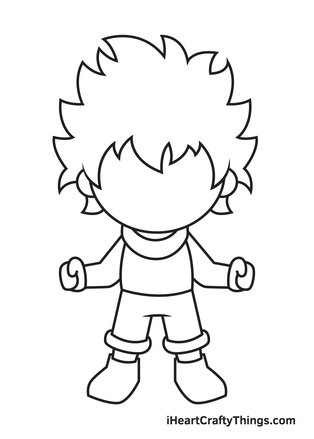 deku drawing step 7