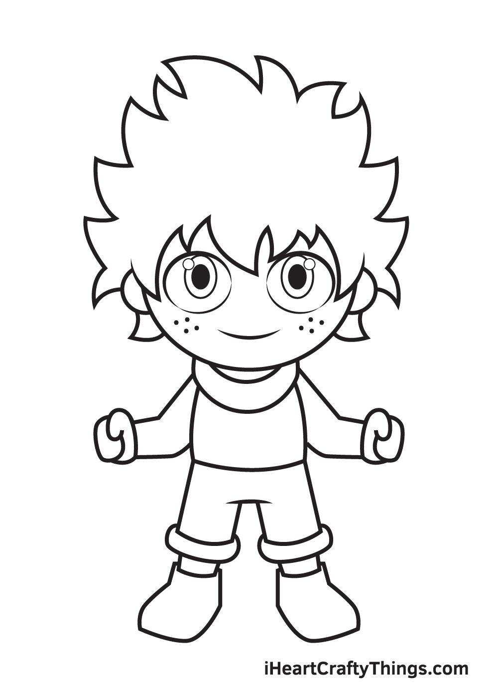 deku drawing step 8
