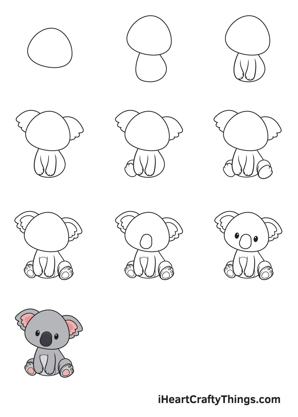 drawing animals in 9 steps