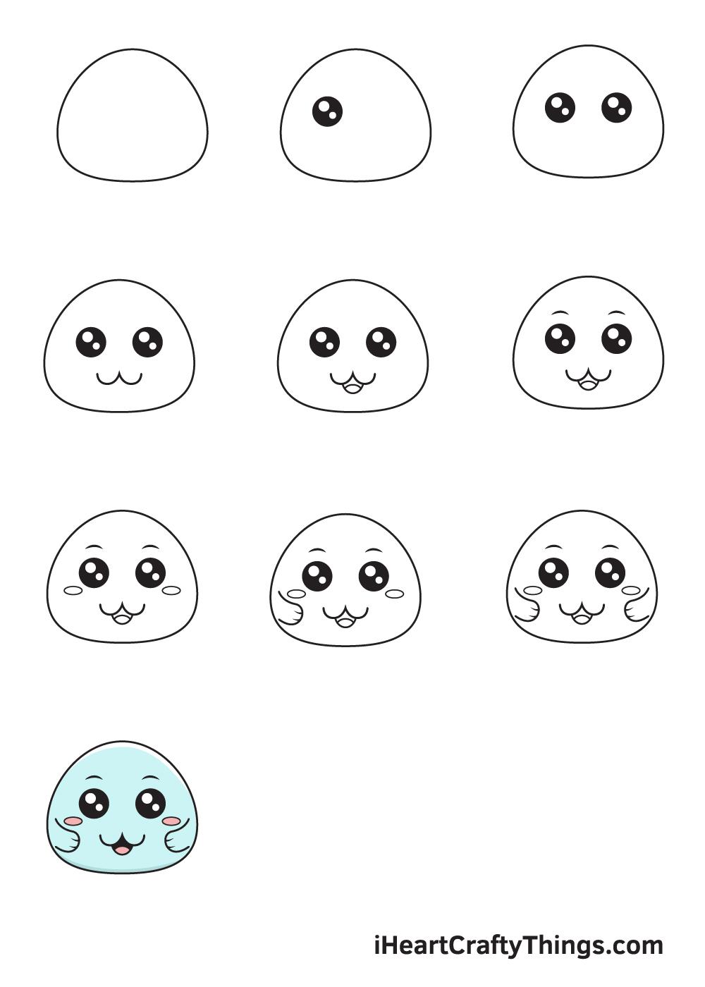 drawing cute in 9 easy steps