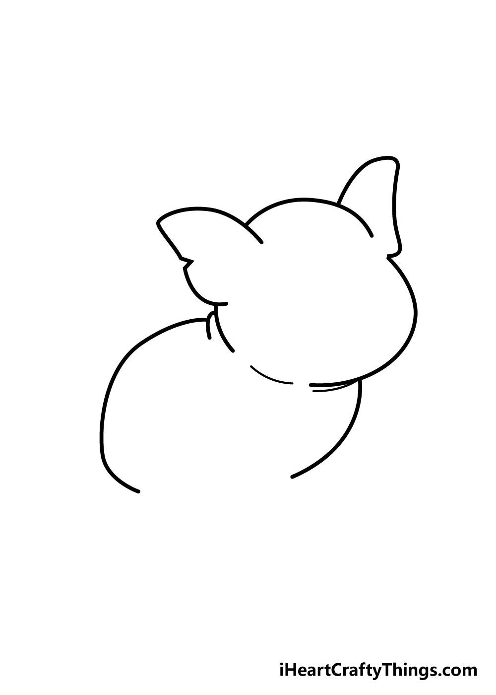 pig drawing step 3