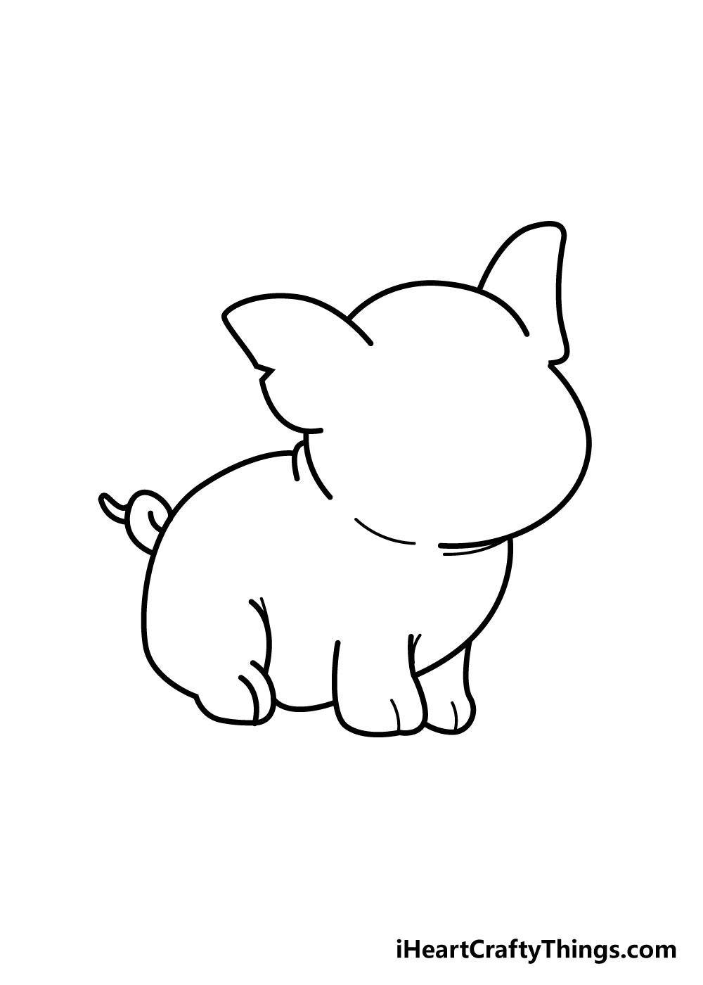 pig drawing step 4