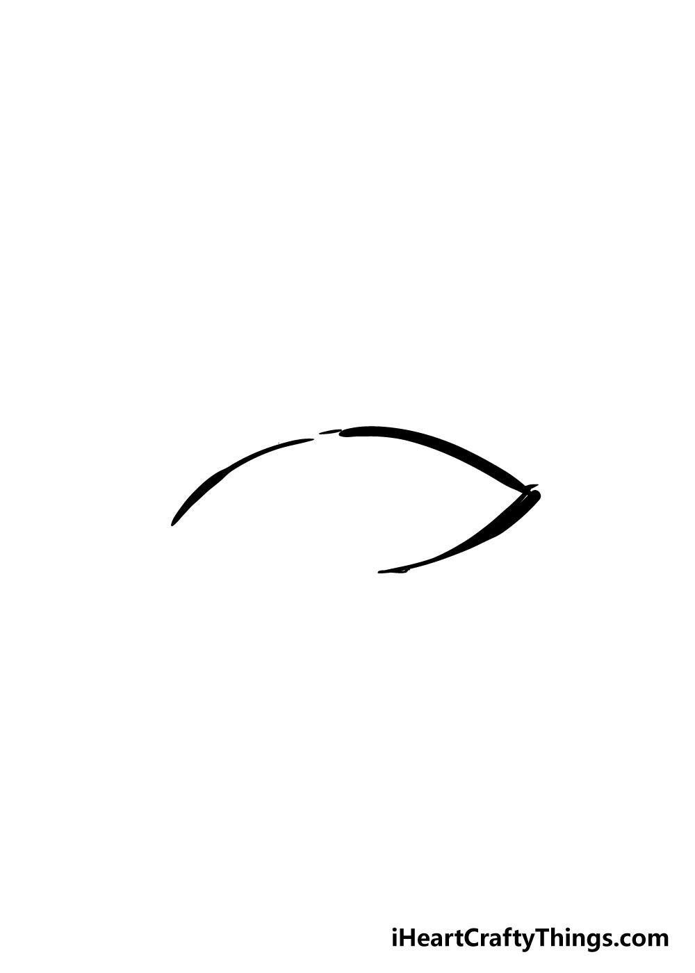 eyelashes drawing step 2