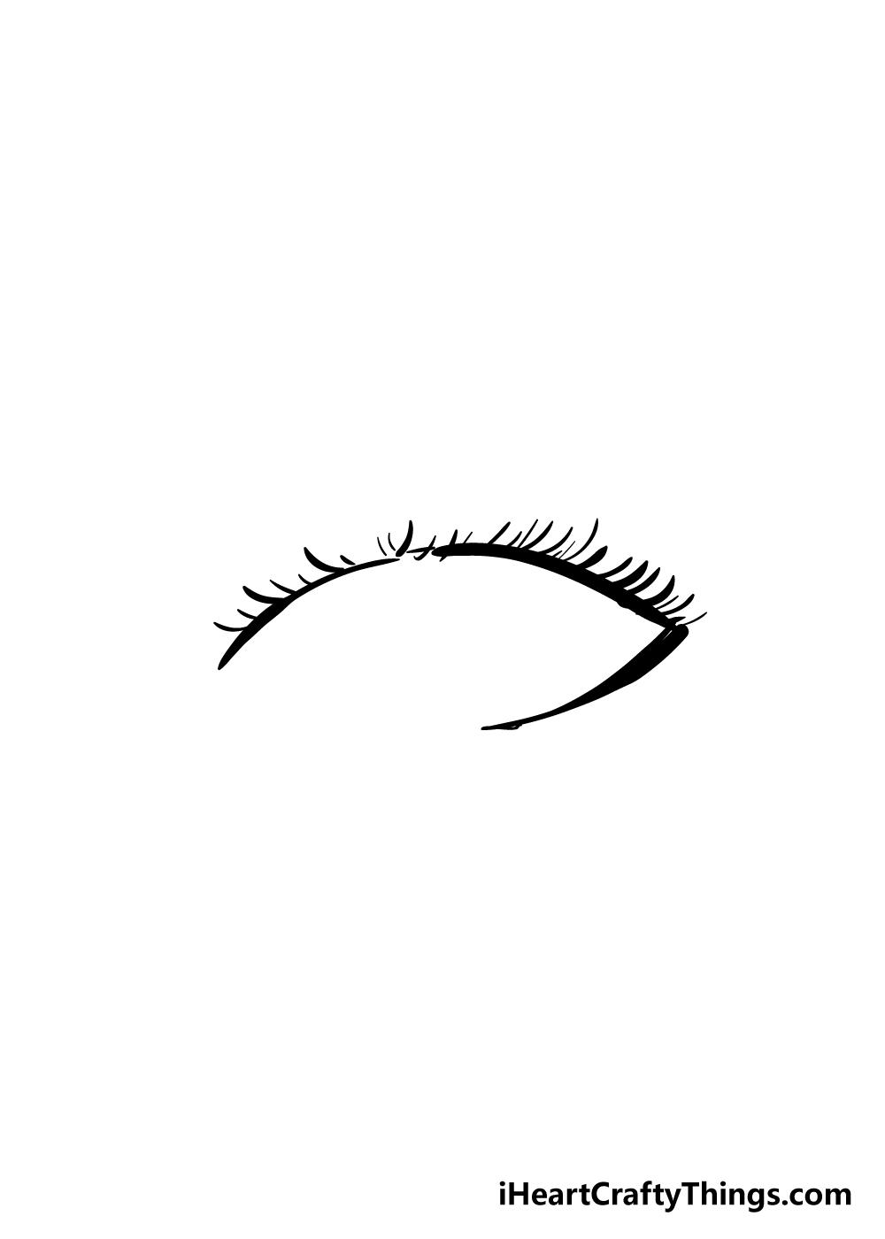 eyelashes drawing step 5