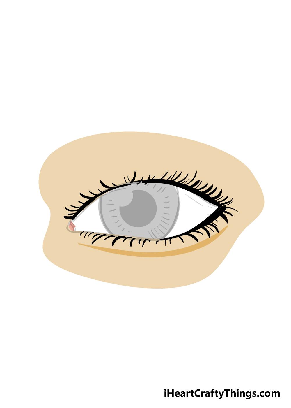 eyelashes drawing step 8