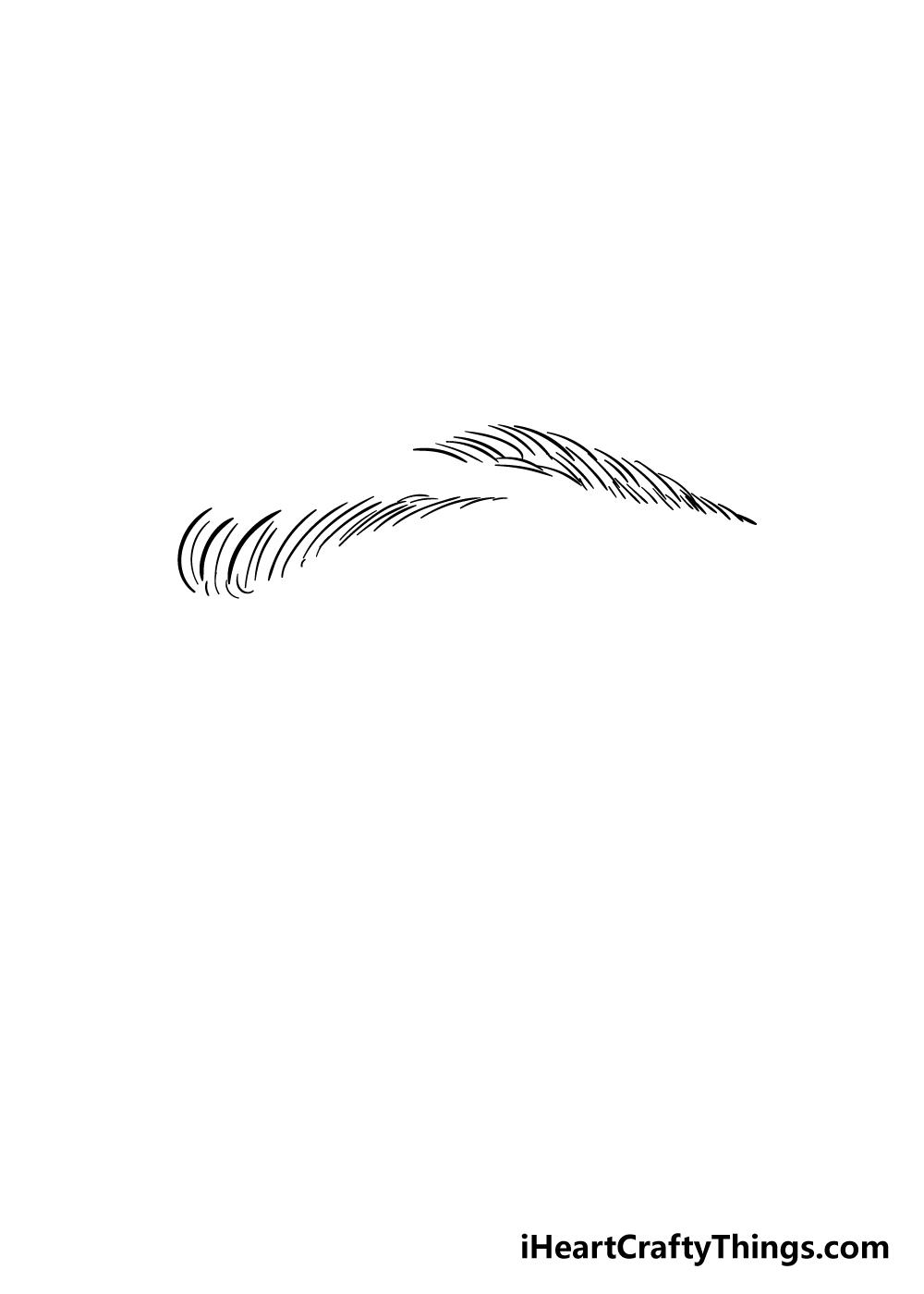eyebrows drawing step 5