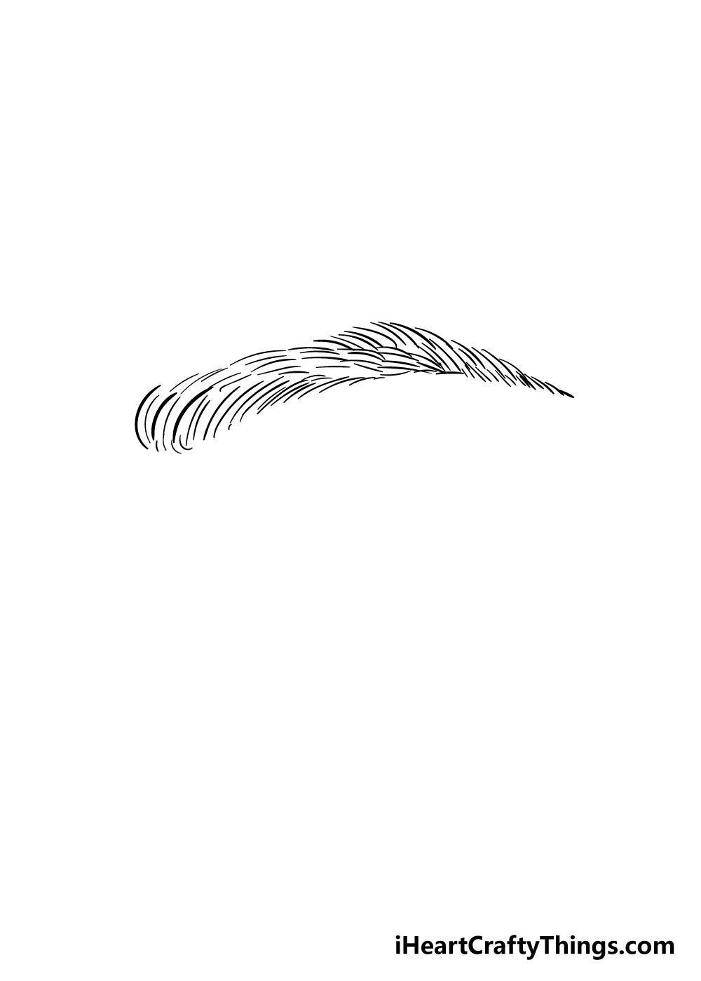 eyebrows drawing step 7