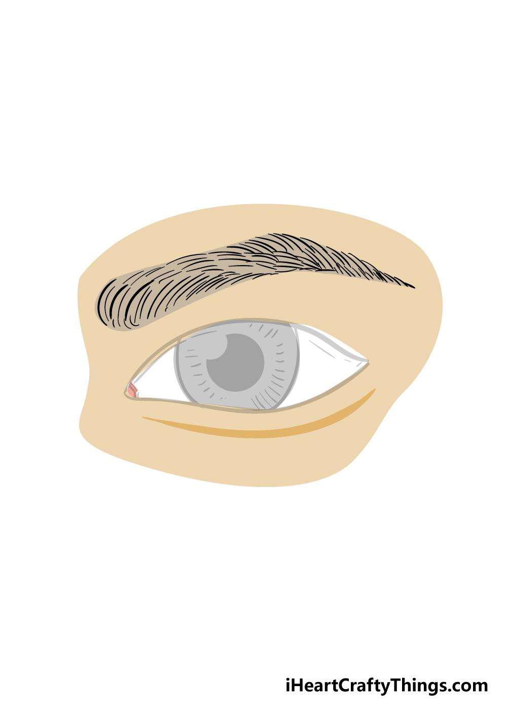 eyebrows drawing step 8
