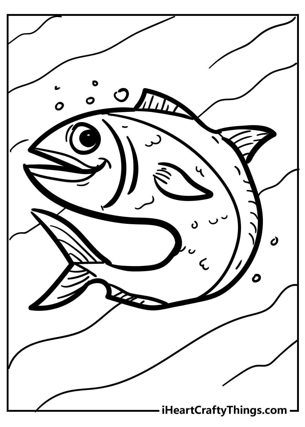 saltwater fish coloring pages free download