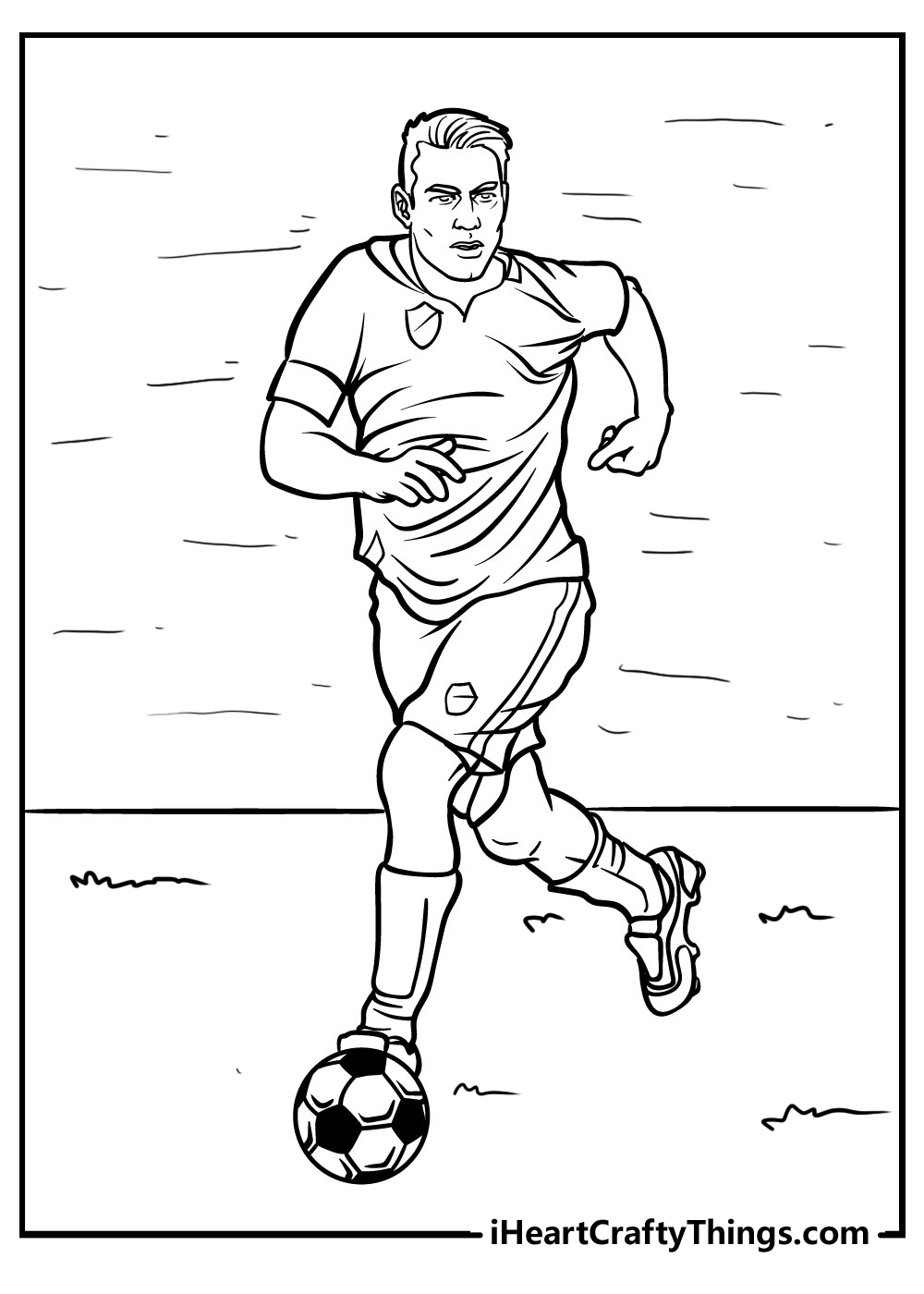 cartoon football coloring pages free download