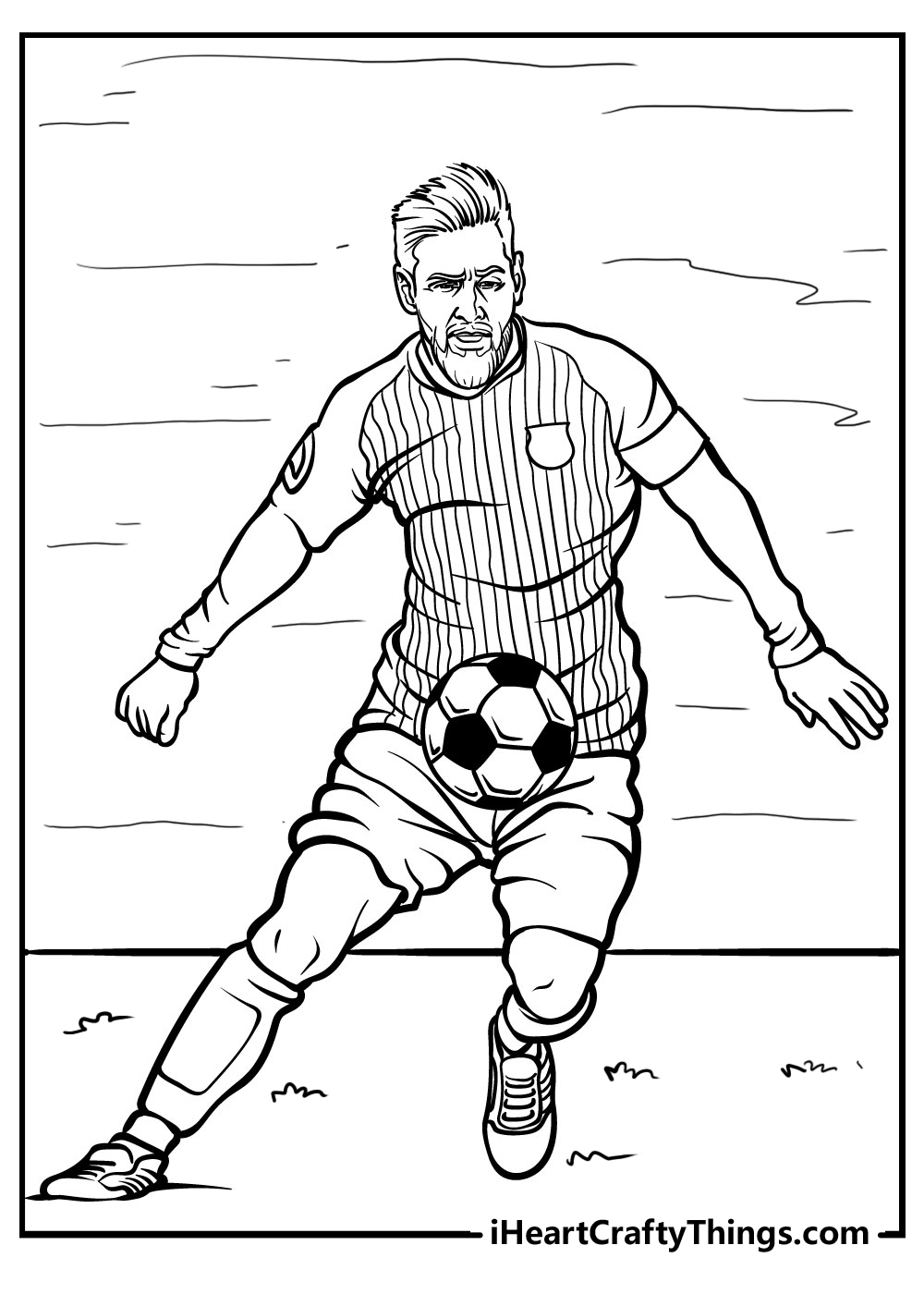 printable football coloring pages