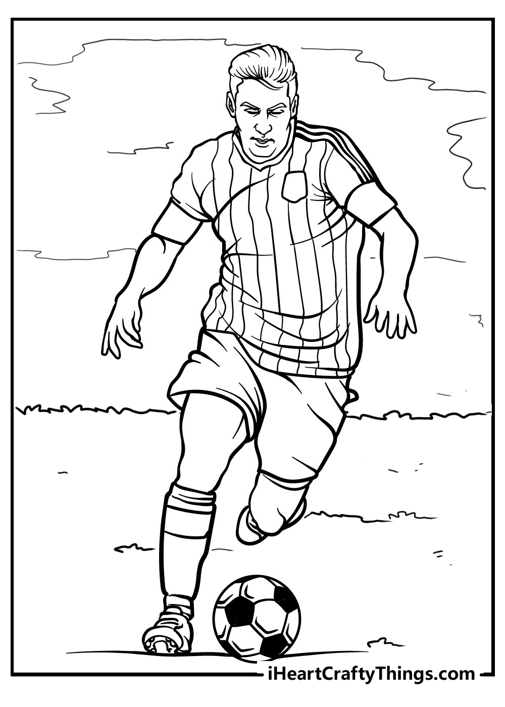 football coloring pages for kids free download