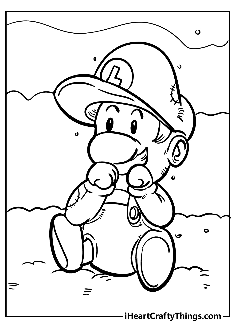super mario coloring pages for boys free download