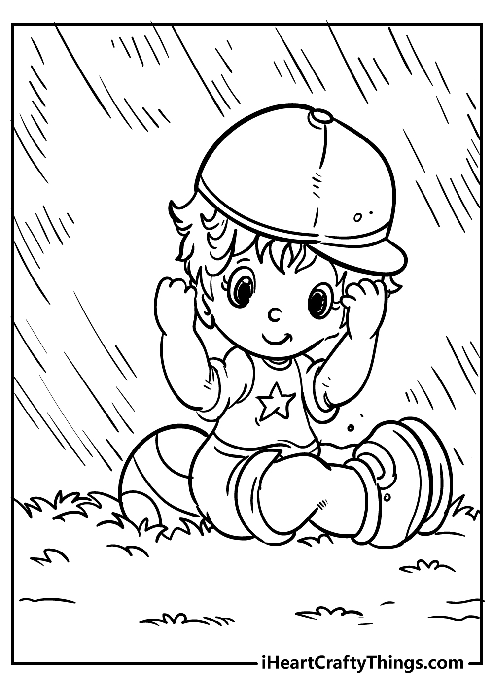 boy playing coloring pages for boys free printable