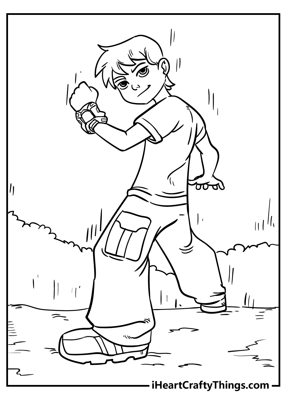 boys coloring pages free print out
