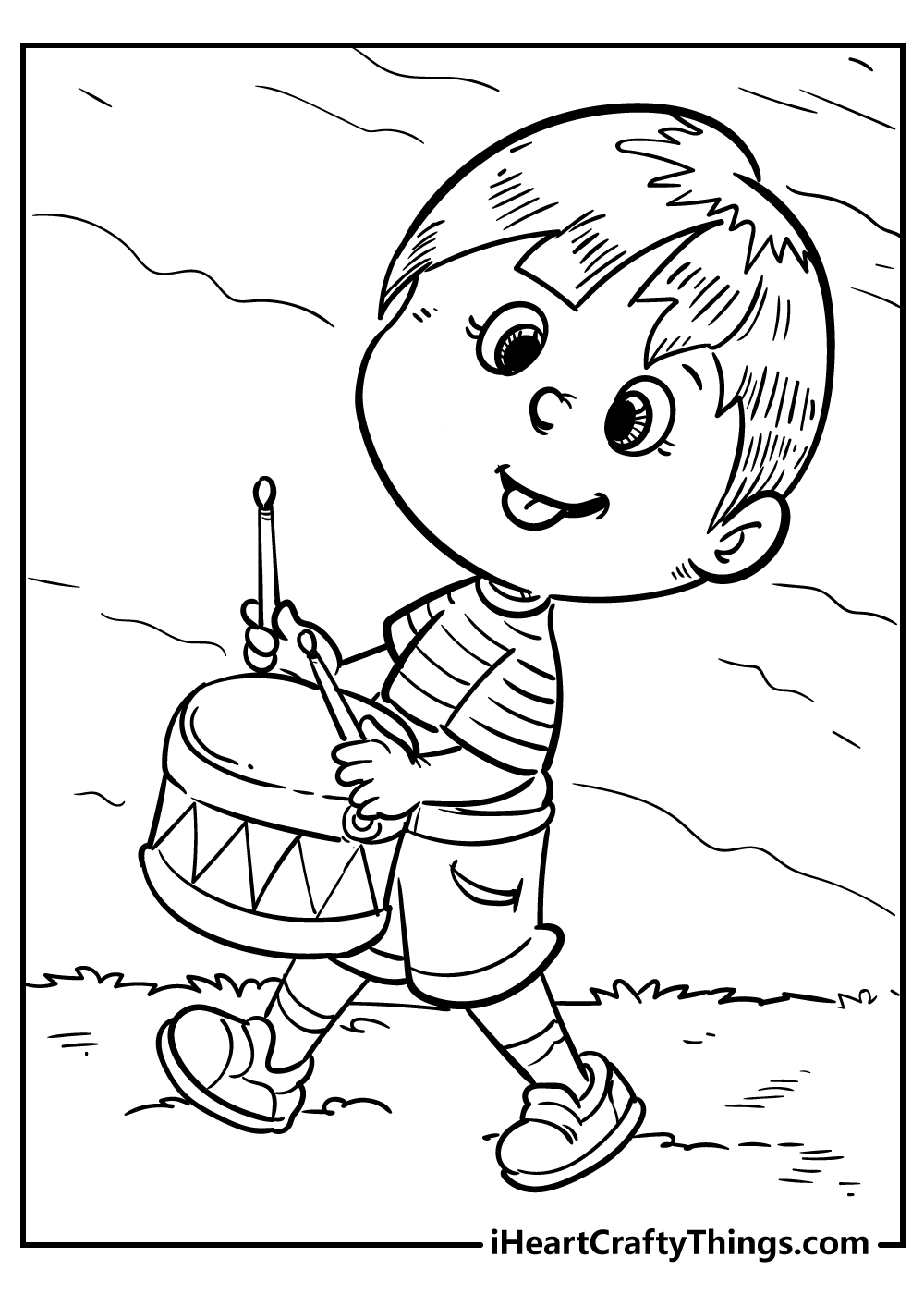 music coloring pages for boys free printable