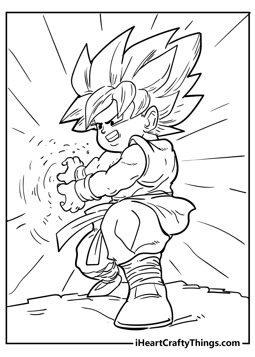 dragon ball coloring pages for boys free printable