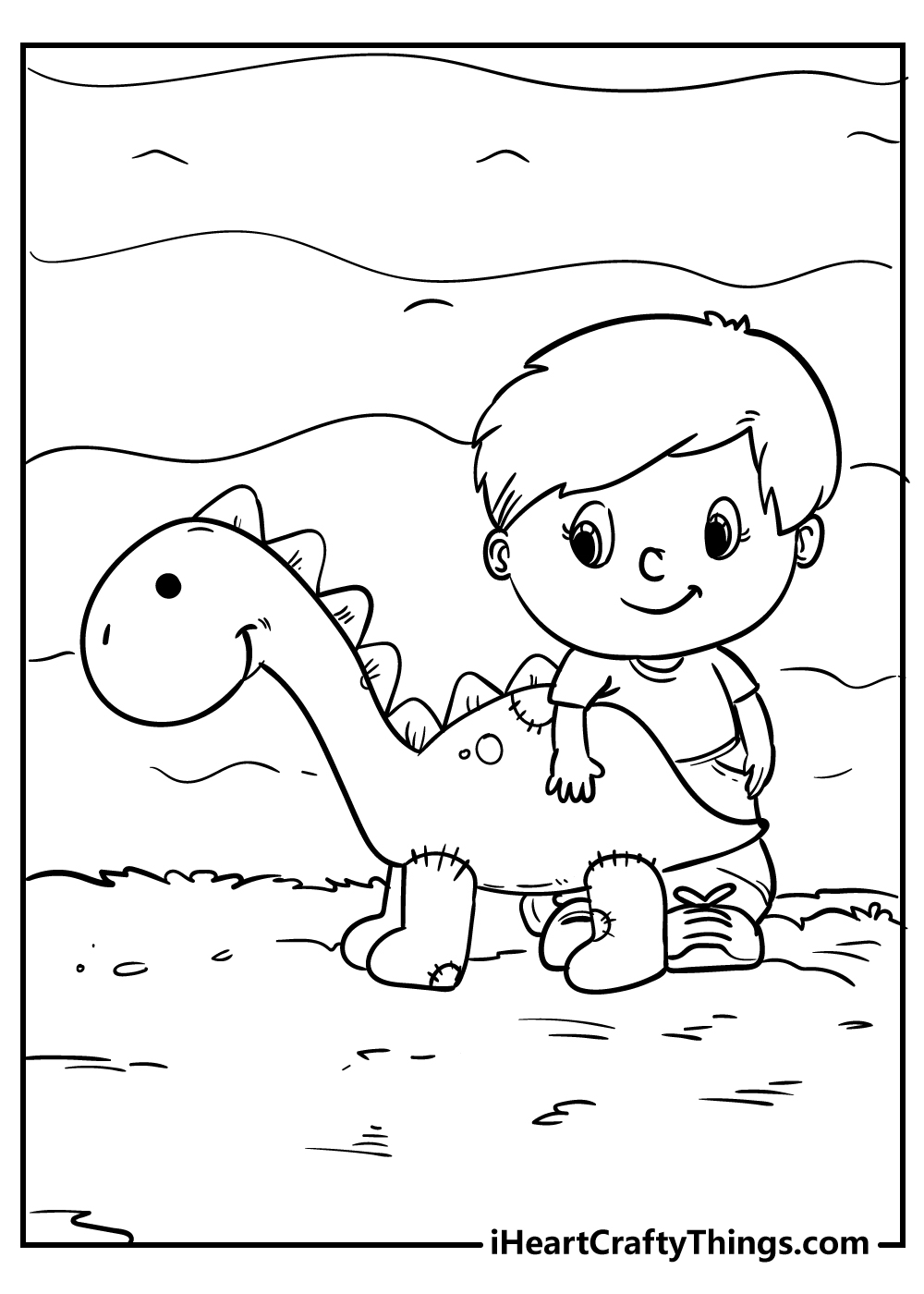 dinosaur coloring pages for boys free print
