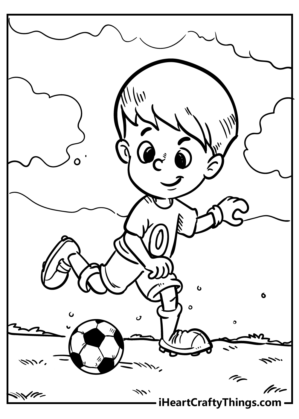 football coloring pages for boys free download