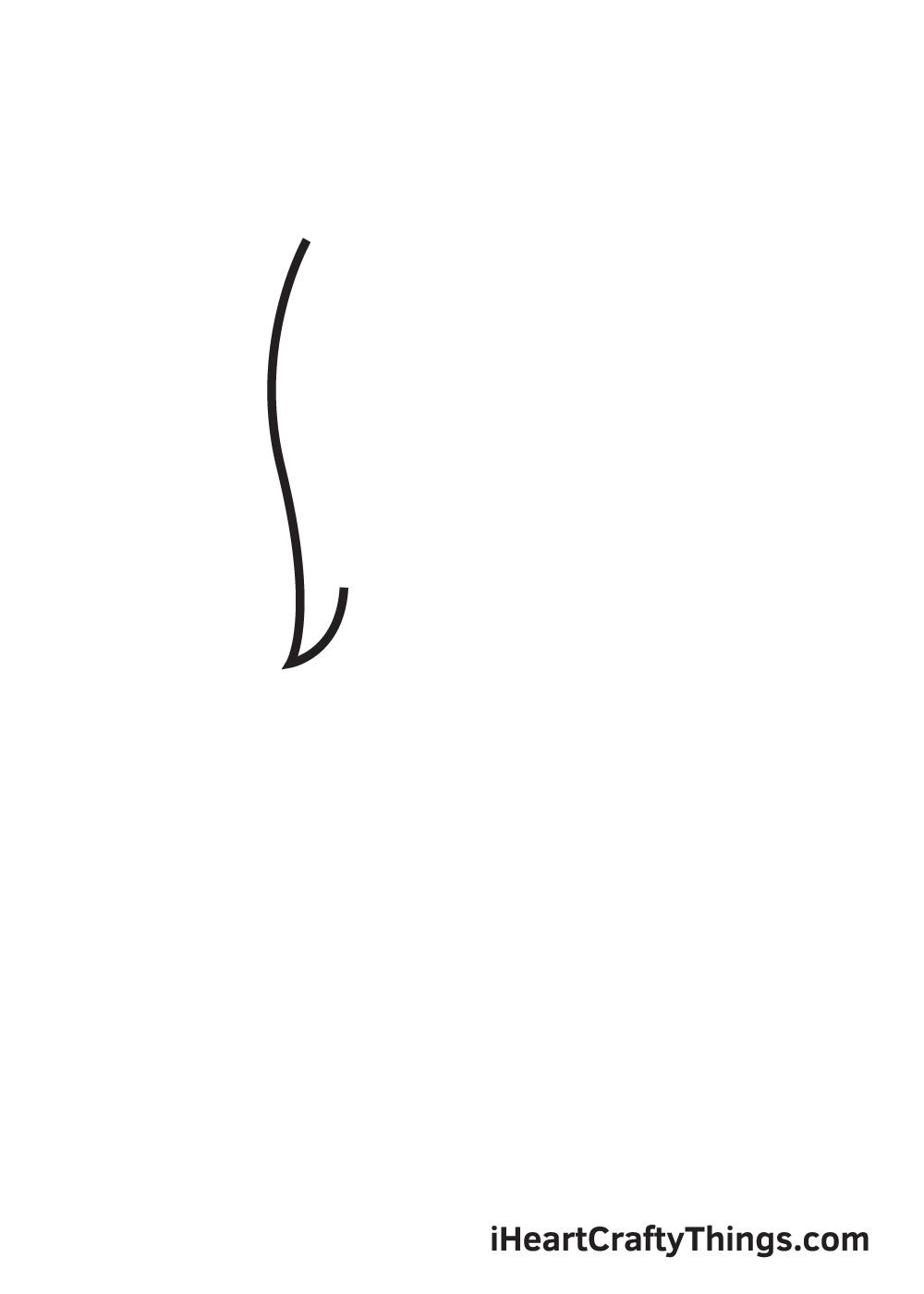 fur drawing step 1